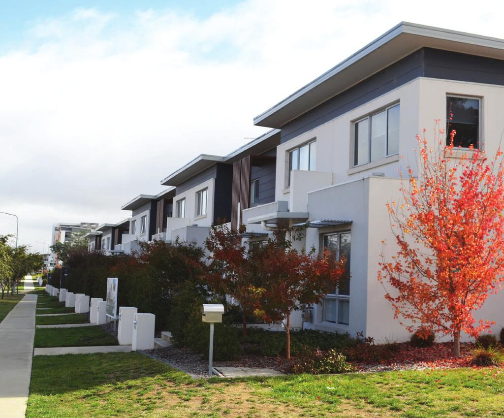 Community Housing Canberra 2. Housing Activity Rental Rates Rental price growth has tracked at a relatively sustainable pace over the past decade, averaging 2.