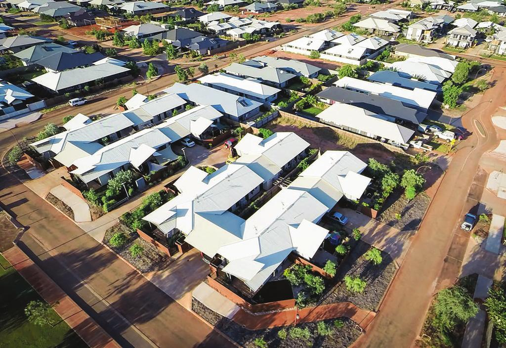 Foundation Housing - Broome North Development Summary The key indicators of housing affordability in Australia considered within this report show that the gap for those on low incomes to meet rental