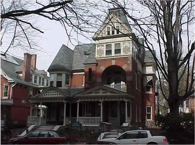The Charles Myers House 77 79 North Broad Street This beautiful house is designed almost entirely of the