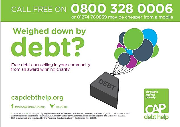 TENANTS PERSONAL DEBT INCREASES. HELP THEM NOT PUNISH THEM CAP is an award winning charity, recommended by TV s Money Saving Expert, Martin Lewis.