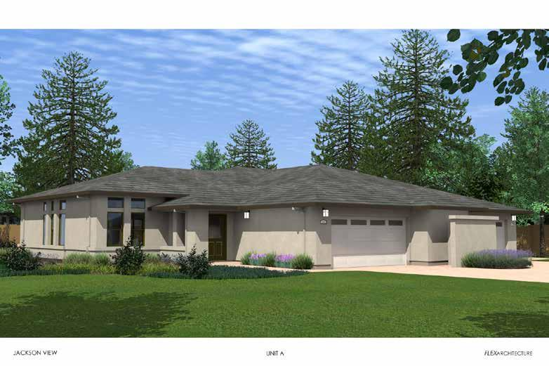 The Jackson 1710 square feet (Plan A) *ARTIST IMPRESSION ONLY The Jackson duplex home provides the perfect space for retirement living!