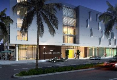 Steven Bradley $6,000,000 Under construction The Sarasota Modern 1242 Boulevard of the Arts 5-Story 81 room