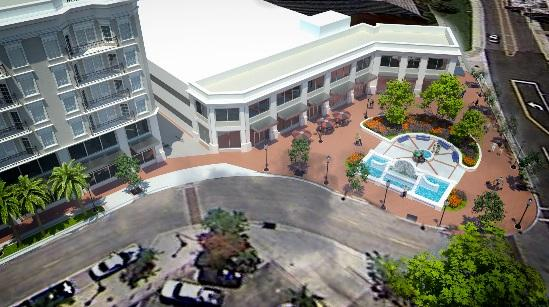 The Mark (formerly City Place at Pineapple Square) 1400 State St. Proposed 11 story bldg. w/ 35,000 sq. ft. retail, 11,000 sq. ft. office.