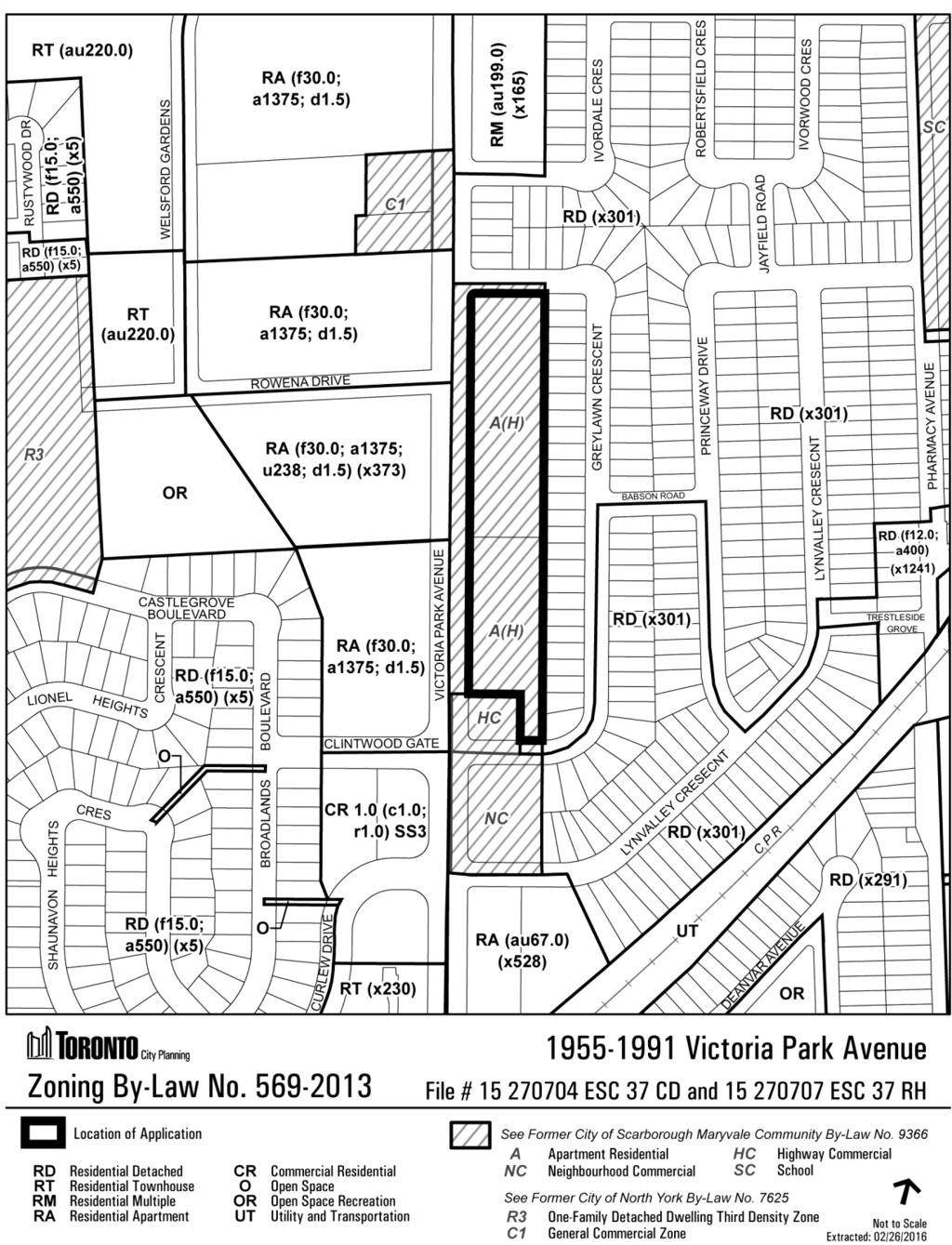 Attachment 2: Zoning Staff report for action