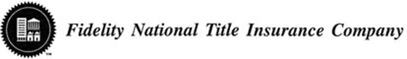 Commitment for Title Insurance Schedule A Issued by Fidelity National Title Insurance Company Fidelity National Title Insurance Company 310 First Street, Suite 1210 Roanoke, VA 24011 Phone: