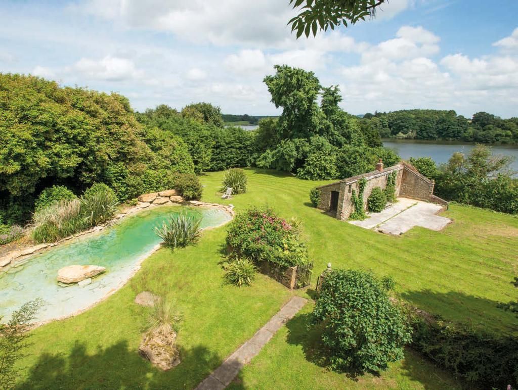 Ancillary Accommodation, Gardens & Grounds The house is approached up a sweeping gravelled drive to a large parking area with a pair of semi-detached cottages to one side (Gardeners Cottage (4