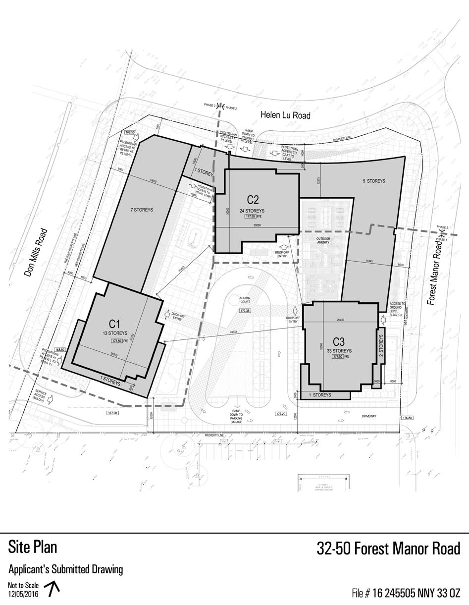 Attachment 3: Site Plan Block C Staff report for