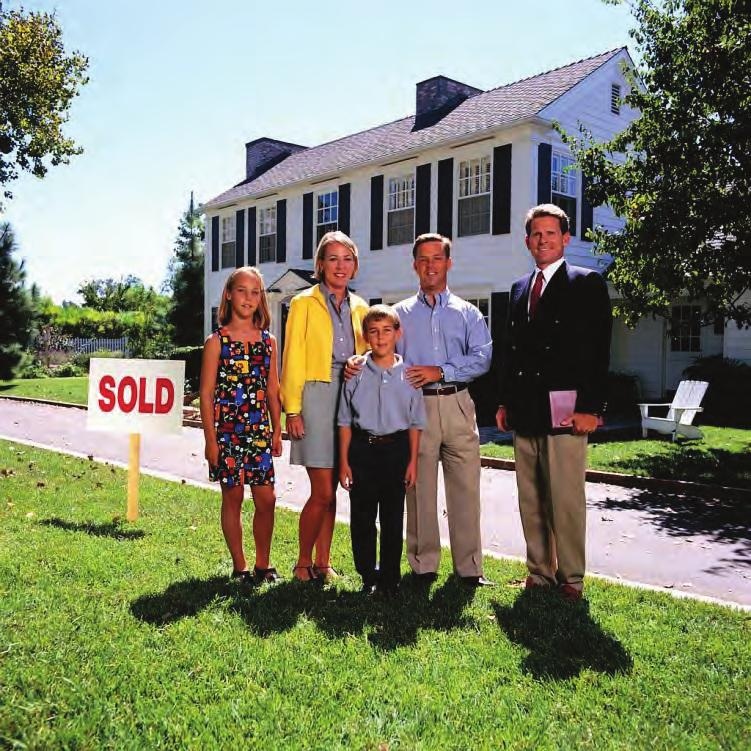 Congratulations! The American Dream has come true for you. Home ownership is an important accomplishment that will help build wealth and security for you and your family.