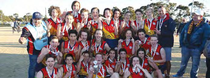 56 16 Williamstown Juniors 13 3 10 0 69.37 12 Hoppers Crossing 12 2 10 0 51.53 8 Point Cook 13 0 13 0 24.04 0 Spotswood 5.2, 7.8, 8.11, 12.16 (88) Newport Power 2.5, 3.7, 6.9, 7.