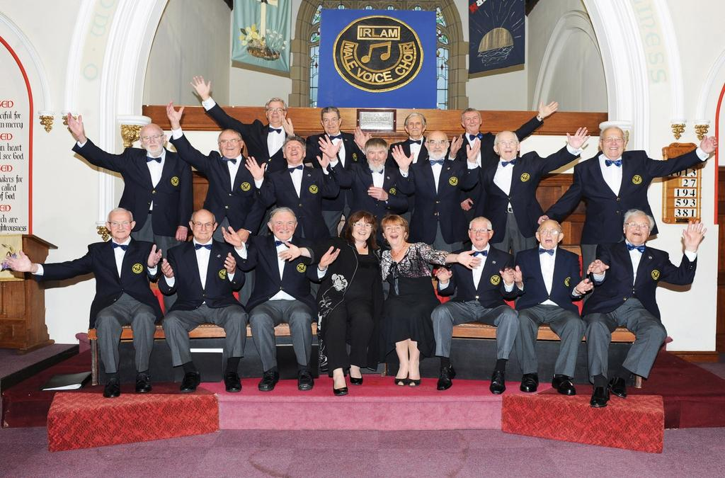 Yates Conductor - Brenda Roberts Pianist - Catherine Trimble Irlam Male Voice Choir Alan Barlow - John Best - Peter Briscoe - Ray Christian - Dave Cooper Geoff Dee - Richard Gale - Ted Harthill -