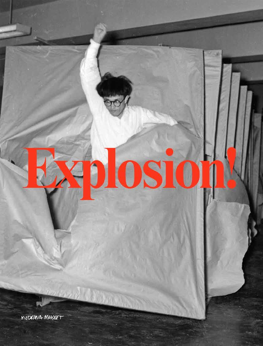 Explosion! Painting as Action König Books, London Edited and foreword by Ann-Sofi Noring, Daniel Birnbaum. Introduction by Magnus af Petersens.
