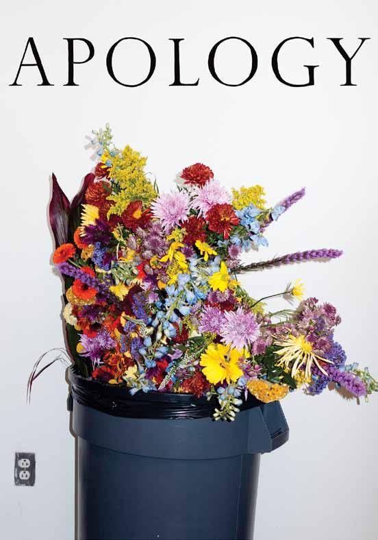 Apology Magazine: Vol. 1, No. 1 Apology Magazine Edited by Jesse Pearson.