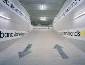 photo: Philip Driessen photo: Philip Driessen Lenculenhof car park Abtstraat 5-11 6211 LS Maastricht This two-storey underground car park adopts an idiosyncratic way of blending in with the existing