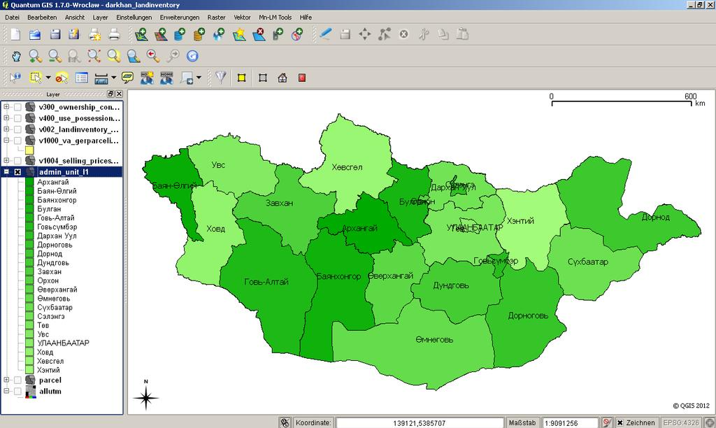 THE LANDMANAGER SOFTWARE PACKAGE MONGOLIA 1 2