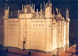 in 1190 as a fortress to defend Paris on