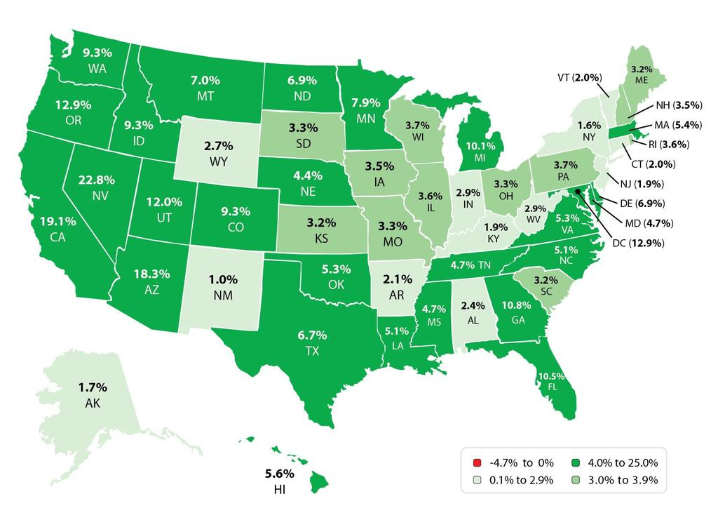 State Home Prices