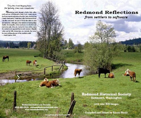 ORDER NOW Redmond Reflections $15 (INCLUDES TAX) * SHIPPING & HANDLING: Please add $5.00 shipping & handling surchage for any order that you would like mailed.