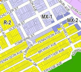 o Example: T ipperary Hill, Washington Square, and Hawley-Green o Number of properties revised: 394 2.