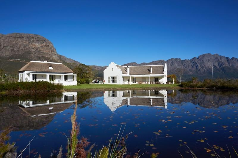 La Cotte House Franschoek, Cape Town Sleeps 14 Pool Heated swimming pool Bedrooms 4 + 2 Views Mountain and vineyard Bathrooms 3 + 2 Location Winelands Summary Enjoy 360-degree views of Franschoek s