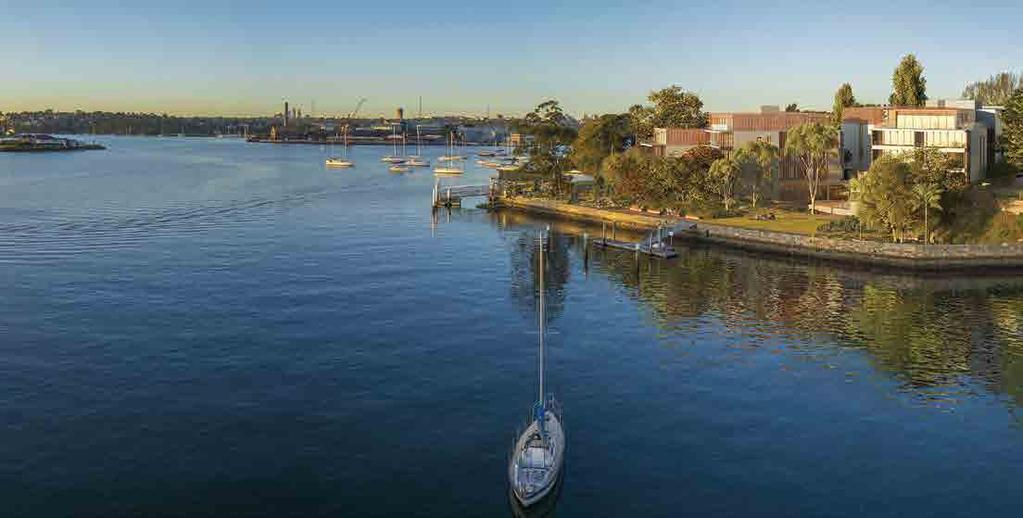 exciting new opportunities Harbourfront Balmain We are pleased to announce one of Toga s new developments, Harbourfront Balmain.