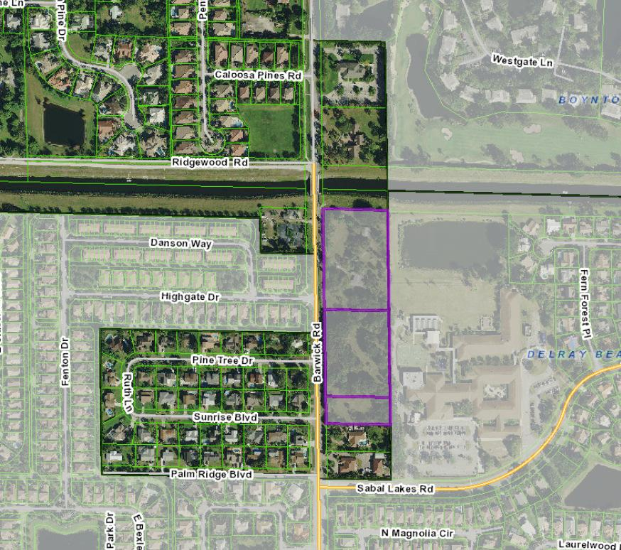 Banyan Cove City of Delray Beach - Annexation, Land Use, Zoning Justification Statement - July 13, 2018 Page 3 annexed into the City of Delray Beach.