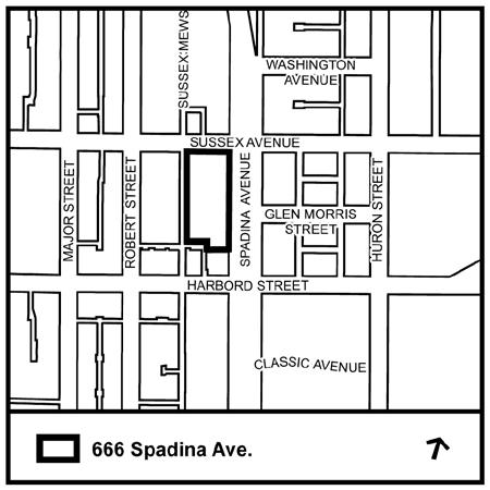 STAFF REPORT ACTION REQUIRED 666 Spadina Ave - Official Plan Amendment and Zoning Amendment Applications - Preliminary Report Date: October 25, 2016 To: From: Wards: Reference Number: Toronto and