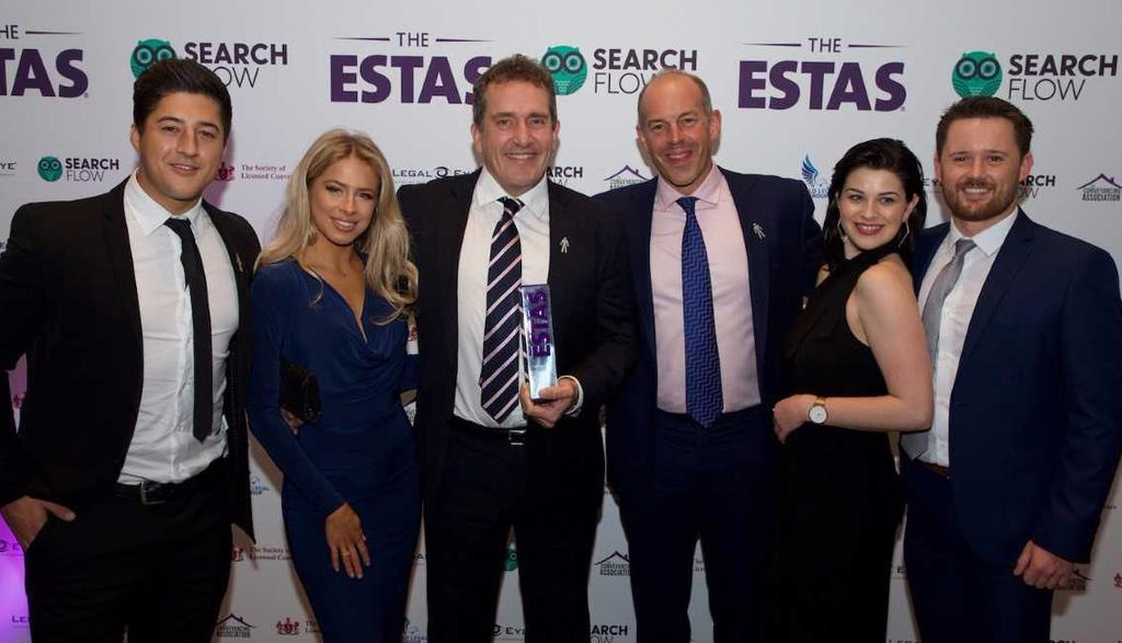page 3 Staff Newsletter 2018 REVOLUTIONARY CONVEYANCING Achievements The ESTAS Awards 2017 2017