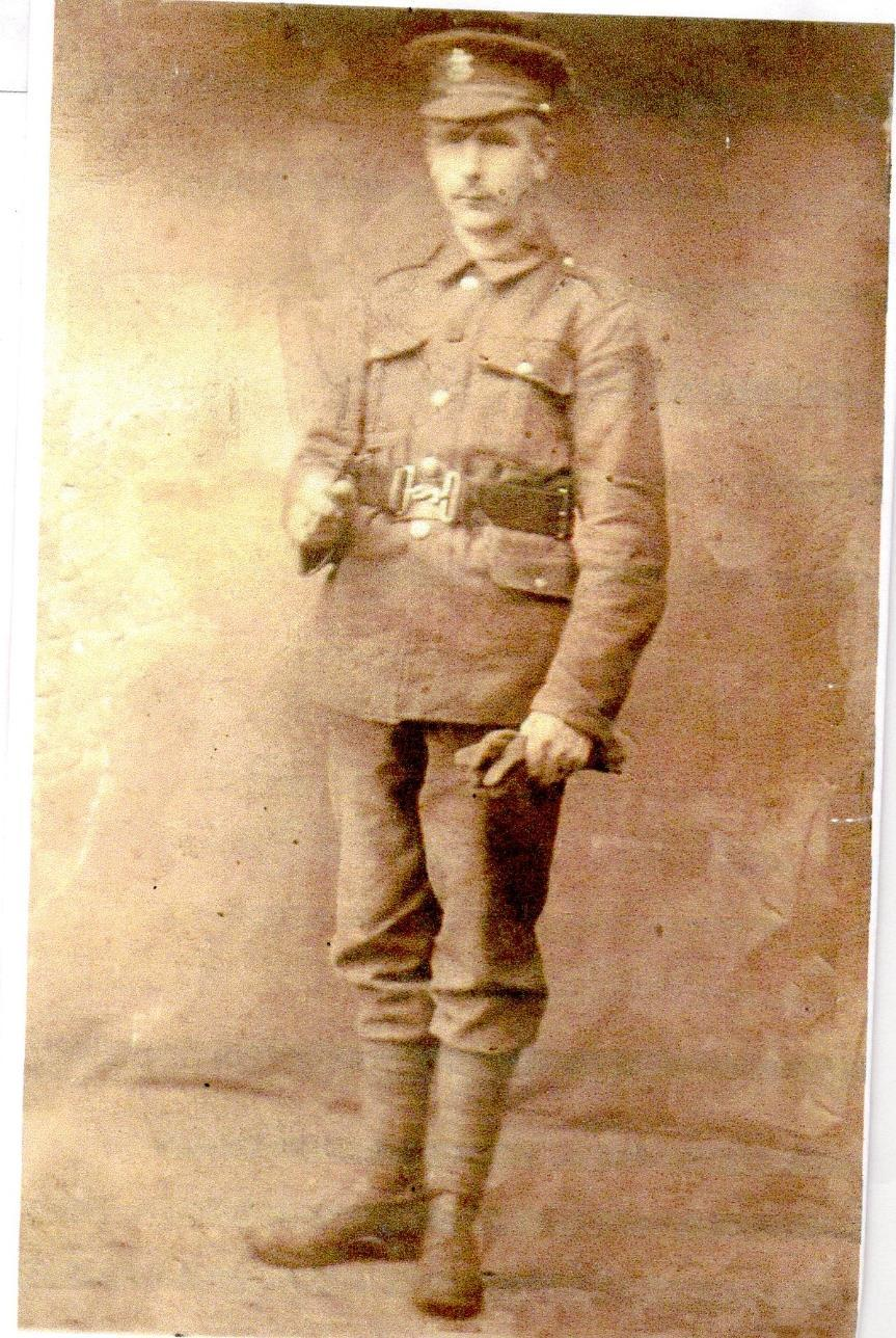 Albert Tanner 13 th November 1892-11 th April 1918 Killed in action, two years after the death of his brother, Walter.
