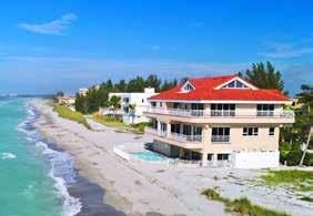 LOCATION Private, dead end road on the southernmost point of Siesta Key Beach front on the Gulf of