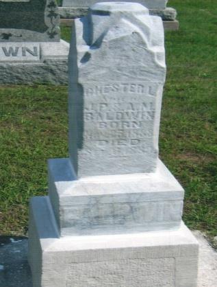 May 4, 1867 Sept. 20, 1916 Aged 49Y. 4M.