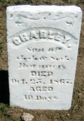 18 N BRENNER, CHARLEY Oct. 25, 1867 Son of J.