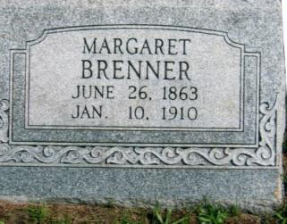 7 S BRENNER, MARGARET June 26, 1863 Jan.