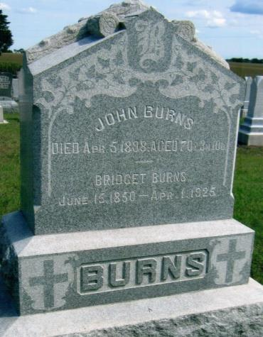 JOHN BURNS, BRIDGET June 15,