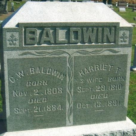13 S BALDWIN, G.W. Nov. 2, 1808 Sept.