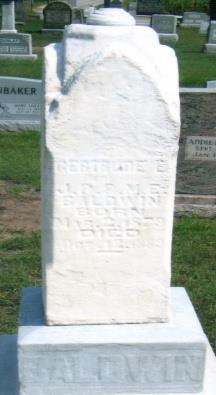 13, 1891 His Wife 13 S BALDWIN, GERTRUDE E. MAR.