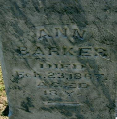 June 28, 1866 Wife of T.R.