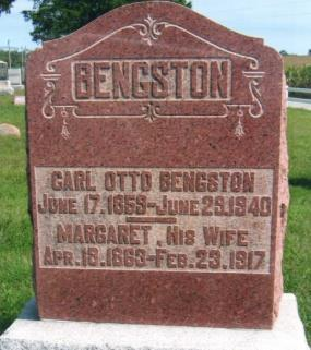 11 S BENGSTON, CARL OTTO BENGSTON,