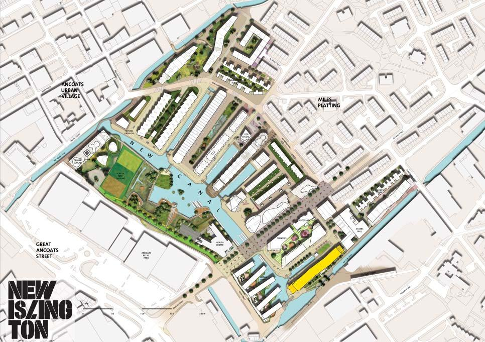 Site plan Manchester city