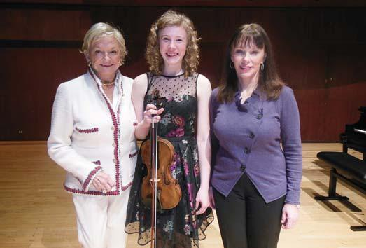 Friedlander Competition Susan Vaughan Janet Friedlander Lynn Harrell Concerto Competition Susan Fisk Young Musicians Vie for Title at Juanita