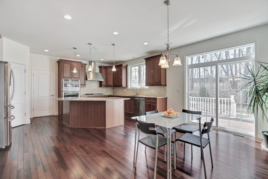 Kitchen: The spacious and thoughtfully designed Kitchen is the heart of this gracious home.