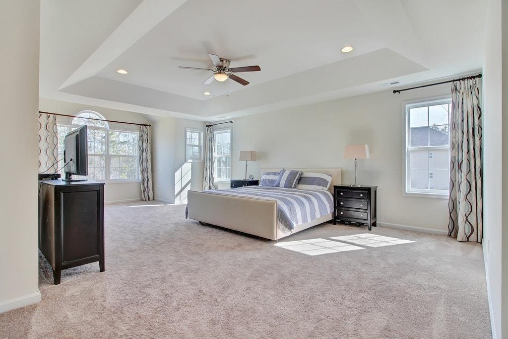 Master Suite: This exceptionally designed Master retreat is enhanced by a triple window anchored by a