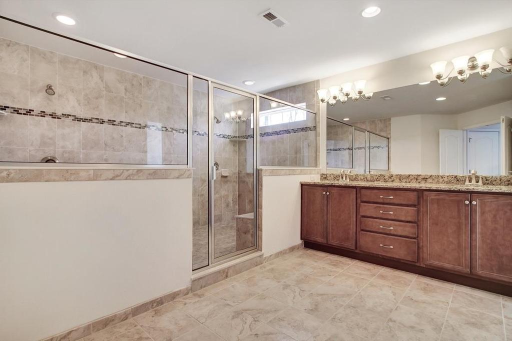 Master Bath : The ensuite Master Bath can be summed up in one word wow!