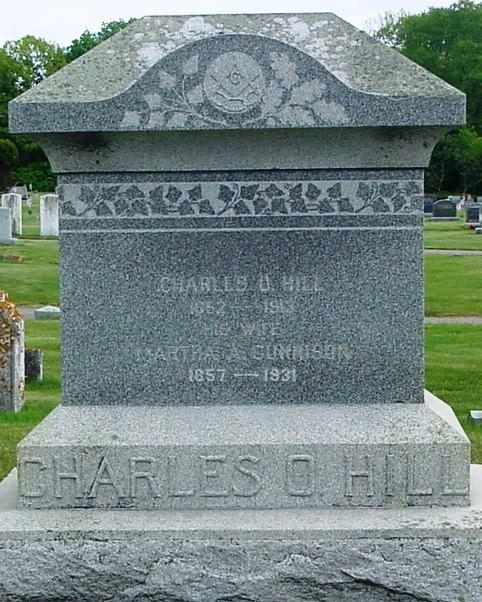 Hill Charles O. (Father), 1852-1913. Martha A.