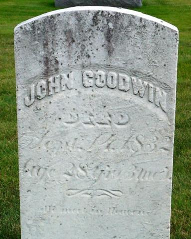 Goodwin Paul John, d. Sept.