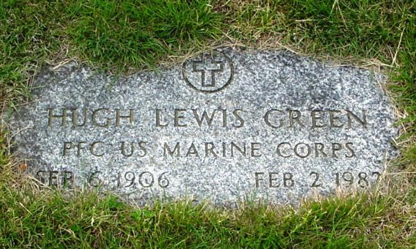 Green Hugh Lewis, PFC, US