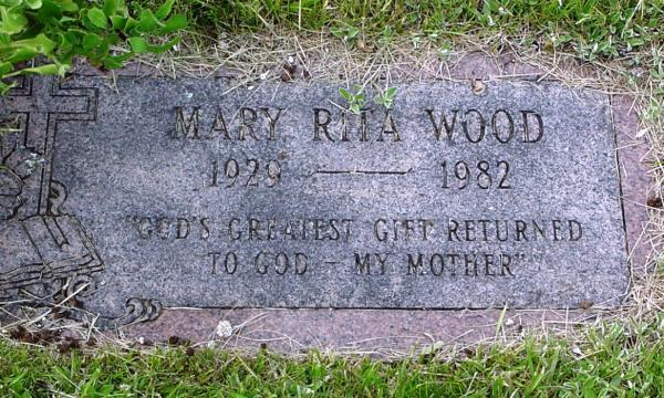 Wood (Continued) Mary Rita, 1929-1982.