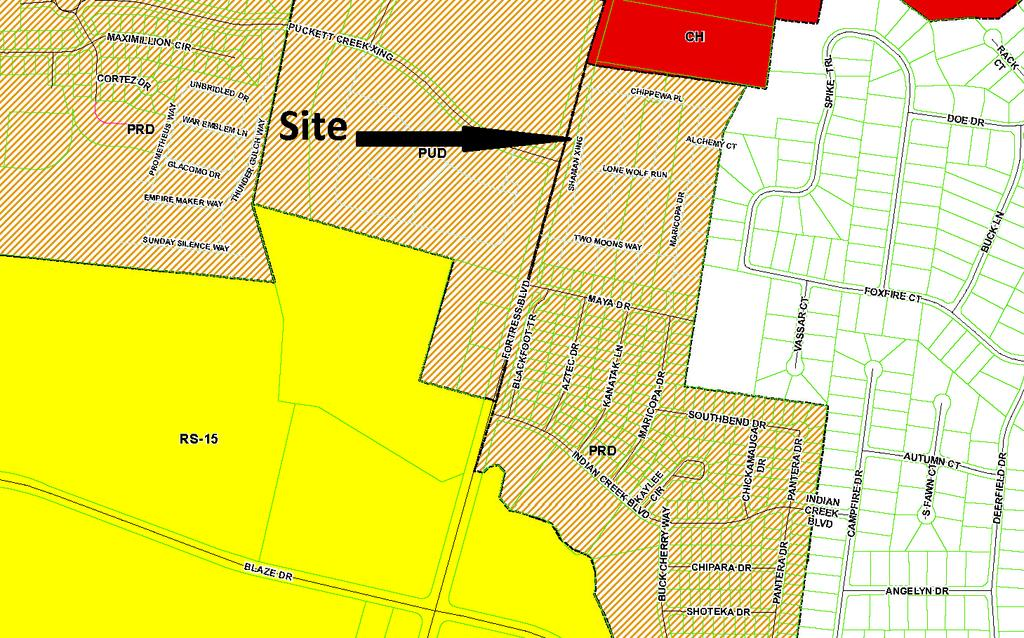 MURFREESBORO BOARD OF ZONING APPEALS STAFF COMMENTS NOVEMBER 21, 2011 Application: Location: Applicant: Zoning: Request: Z-11-066 Along the east side of Fortress Boulevard in the common area of The