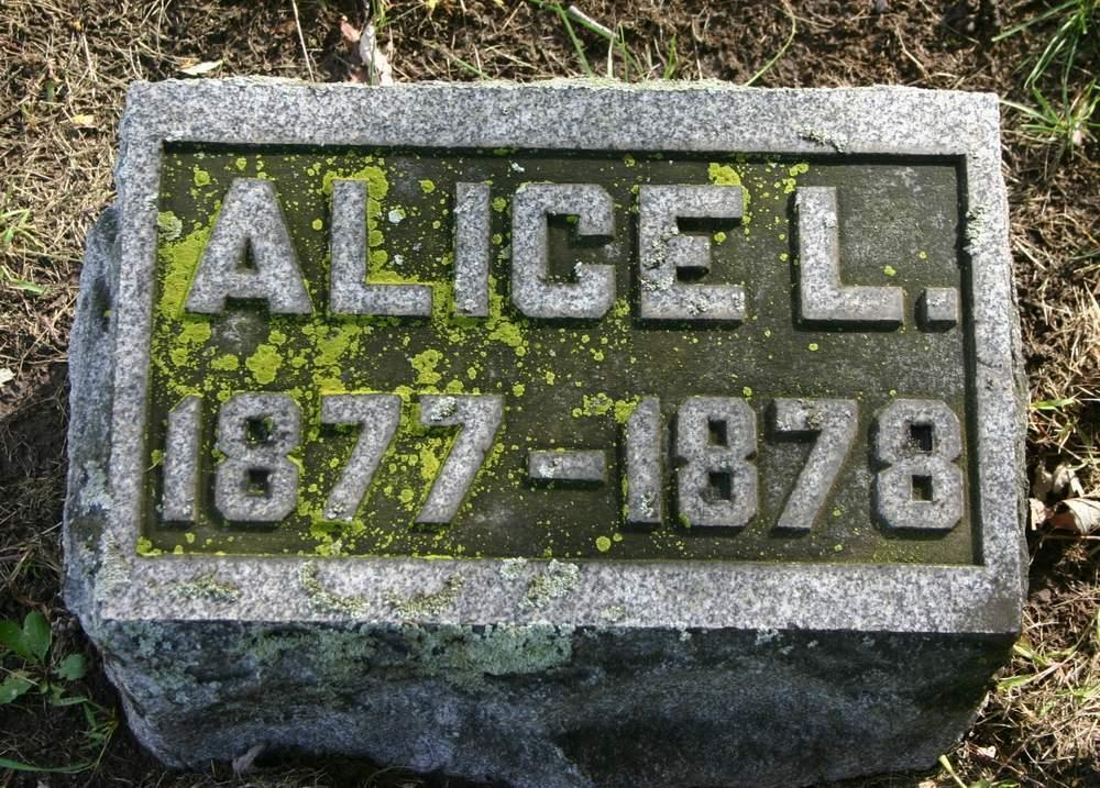(Armstrong) Oliphant: North Ridge Cemetery Alice L.