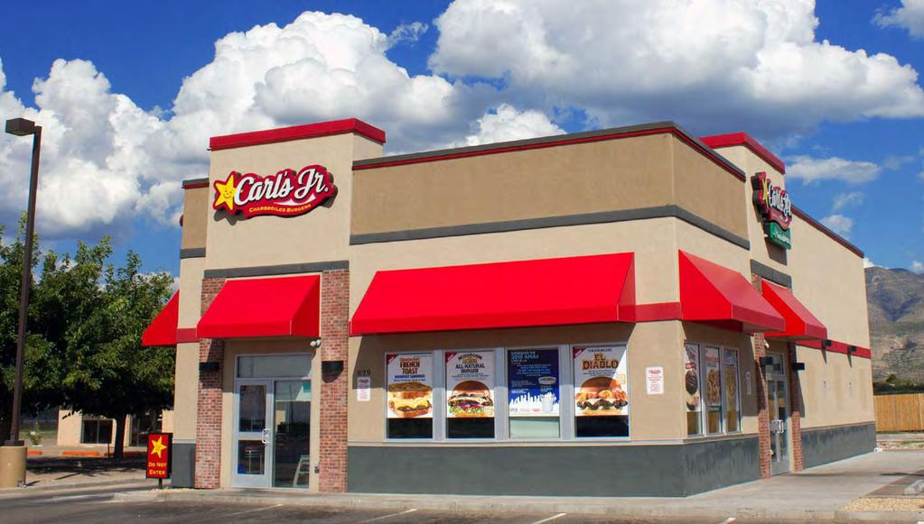 ABSOLUTE NNN CARL S JR. 3930 Eastex Freeway, Beaumont, TX 77703 File Photo Absolute NNN Lease Zero LL Obligations 10% Rent Increases Every 5-Years Long Term Lease 14.