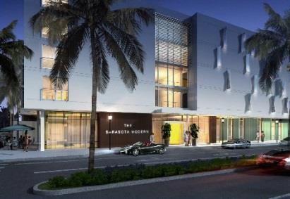 PROJECT IMAGE PROJECT/LOCATION DEVELOPER CONST. VALUE STATUS PERMIT The Sarasota Modern 591 Cocoanut Ave.